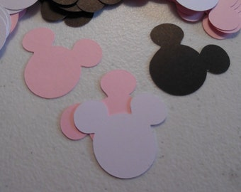 Minnie Mouse Confetti- Minnie Mouse Birthday Confetti- Minnie Mouse Baby Shower Confetti