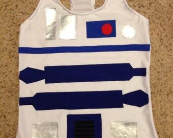 Droid running costume tank
