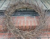Wreath -  36 inch Twig Wreath