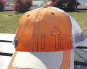i tri Trucker Hat