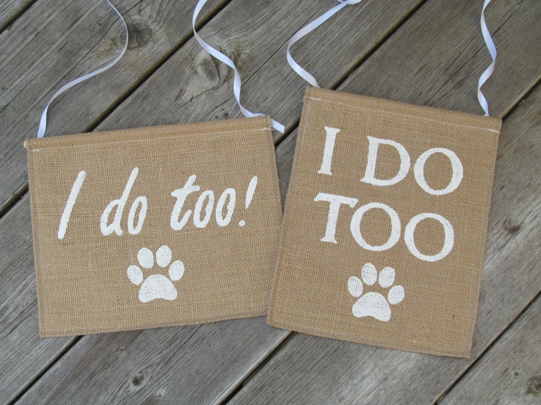 Dog Wedding Dog Wedding Sign Dog Wedding