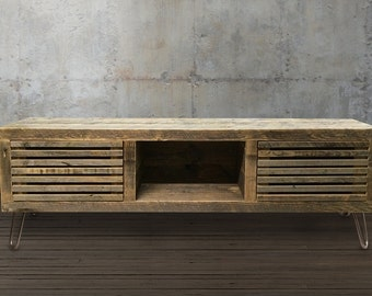 Reclaimed Wood Media Console, Reclaimed Wood Furniture
