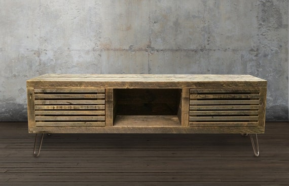 Reclaimed Wood Media Console Reclaimed Wood Furniture