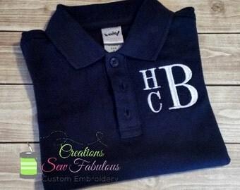 Custom Polo Shirts - Boys School Uniforms - Personalized Polo Shirts - Embroidered Polo Shirts - Design Your Own Polo Shirt