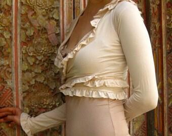 Wrap Around ~ Shrug ~ Vest ~ Crop ~ Top ~ Summer Sale 25% off