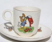 Cute Donald Duck childrens coffee cup by Stavangerflint Norway
