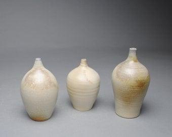 Clay Bottle Set Wood Fired B7
