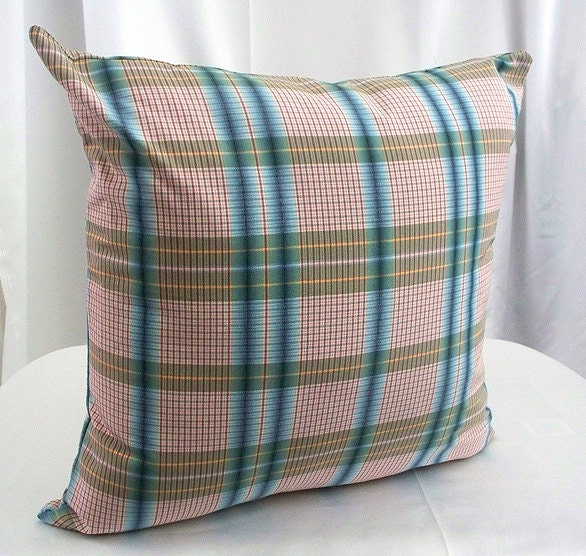Decorative Plaid Pillows : Tartan plaid throw Pillows Decorative Pillows Pillow covers