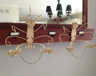 Candle Holder Wall Mount Jewel Holder