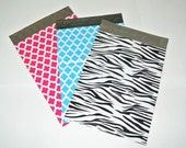 Choose The Pattern - 100 9x12 Poly Mailers - Exclusive