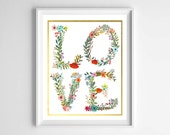 Woodland Love Printable/Baby Girl Gift-Baby Shower Decor by paper and palette