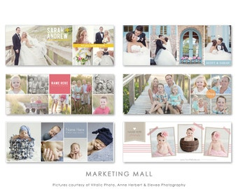 Facebook Timeline Bundle, Facebook Template, Facebook Cover Templates, Facebook Timeline, Photographer Facebook Timeline, Studio Marketing