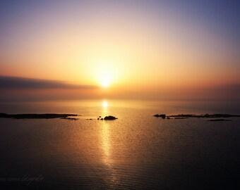 8x10 Sunrise on Cyprus