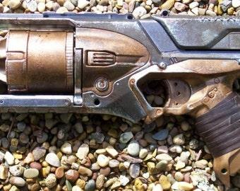 Steampunk Nerf Strongarm dart gun