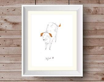 Original Hand-Illustrated Portrait of YOUR pet!