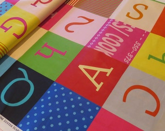 ABC Patchwork by Suzuko Koseki from the Extra Fine Luster Scare Redline Collection