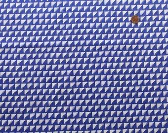 Steps in Royal Blue (A) from Framework by Ellen Baker for Kokka