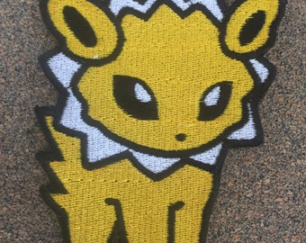 Pokemon Jolteon Iron on or sew on Patches