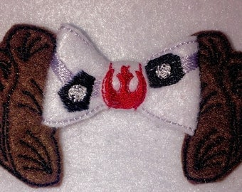 Rebel Space Princess Hair Bow - 2 inches