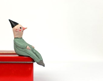 "Black Hat Edgefellows ""Boris"" - Sculpture, Miniature"