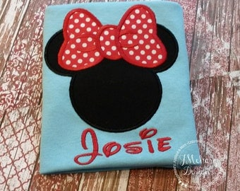 Custom embroidered Disney Inspired Vacation Shirts for the Family! 826