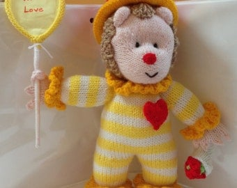 Valentine Clown Hedgehog