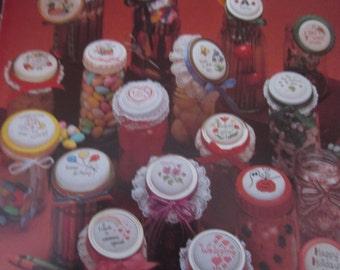 Jar Lids Leisure Arts Leaflet 278