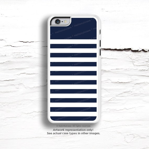 iPhone 7 Case Navy Stripes iPhone 7 Plus iPhone 6s Case iPhone SE Case iPhone 6 Case iPhone 6s Plus iPhone iPhone 5S Case Galaxy S6 Case C38