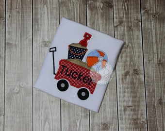 Beach Wagon TShirt - Customized and Personalized