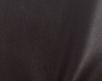 "Solid Two Way Stretch Spandex Costume Dance Vinyl Fabric - DARK BROWN - Sold By The Yard 55/56"" Width"