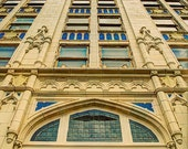 Corsicana, Texas architecture - decorative photography print - wall art - home decor - textured Chase bank building photo - multiple sizes