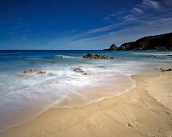 Sunnyside beach, Scotland, 11.7x16.5in Photo Print