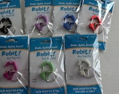 Tag changer, Tag Clip, Dog Tag Clip, Pet tag clip, Dog Tag Silencer - Rubit Medium