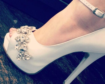 Bridal shoes -- style Zulia-- Made to Order