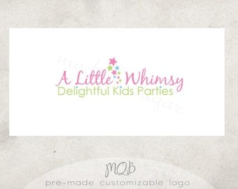 Premade Boutique Logo & Watermark - Little Whimsy