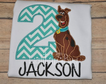 Scooby Doo  birthday Shirt