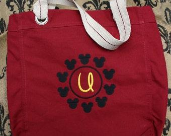 Monogrammed Disney Tote, Travel Bag, Free Monogram