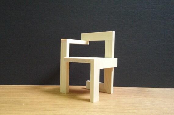 gerrit rietveld chaise steltman 1 6 mod le de meubles. Black Bedroom Furniture Sets. Home Design Ideas