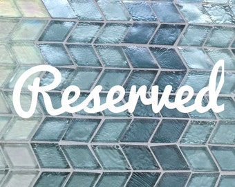 Reserved listing for Brandy
