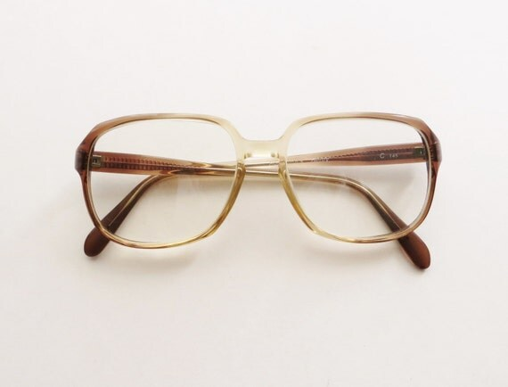 90 s rodenstock eyeglasses prescription frame ombre brown
