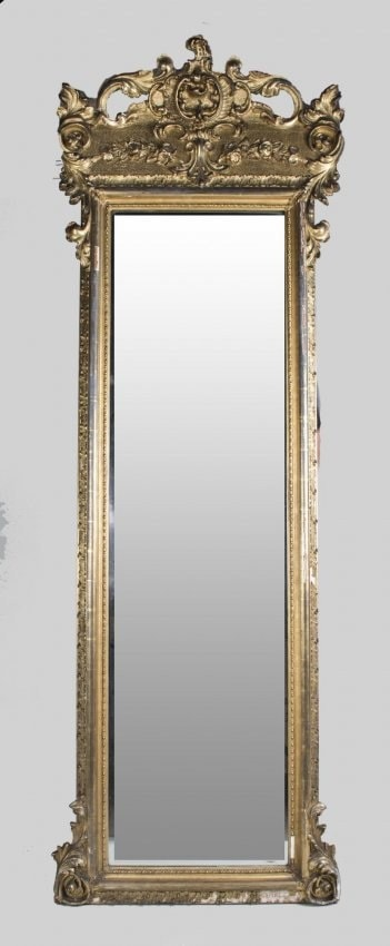 Vintage french pier mirror 7 feet plus haute juice for 7 foot mirror