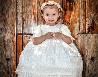 Baptism baby girl dress