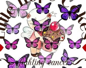 Pink & Purple Monarchs