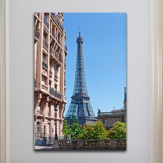 Paris Bedroom Decor Paris Eiffel Tower Canvas Wall By PHOTOFORWALL