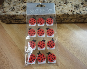 Jolees Boutique Scrapbook 12pc Ladybug Corners