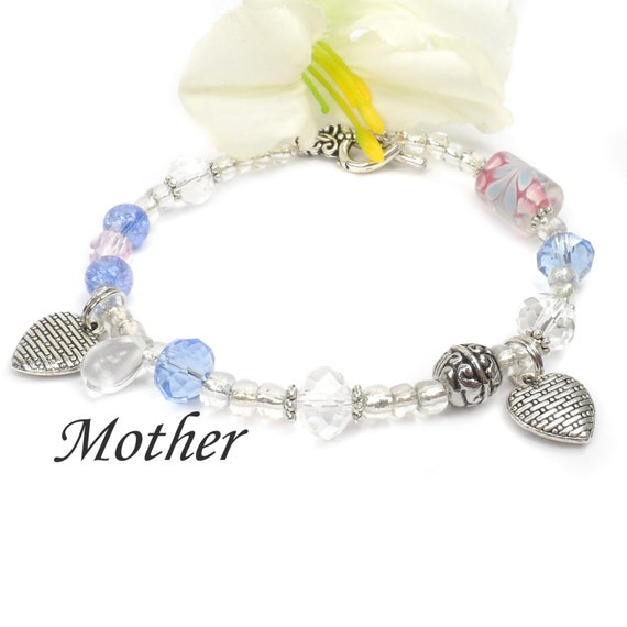 Mothers Day Present For Mom, Mothers Bracelet, Birthday Gift For Mom B101