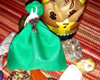 Mo Money, Mojo Bag, Ritual, Talisman, Nation Sack, hoodoo, voodoo, wicca, Pagan