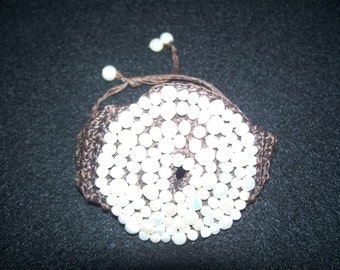 FREE SHIPPING in the U.S.--Coldwater Creek Freshwater Pearl Woven Bracelet