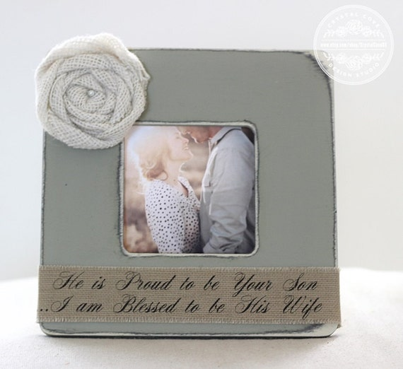 wedding gift for parents of groom personalized picture frame wedding