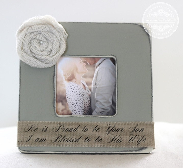 Wedding Gifts For Parents Photo Frames : Wedding Gift for Parents of Groom Personalized Picture Frame